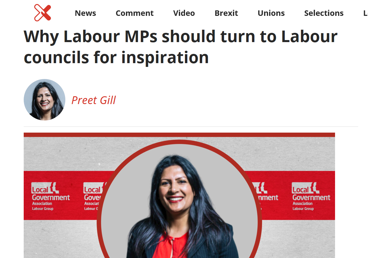 Preet Kaur Gill MP writes for LabourList on why Labour MPs need to listen to Labour councils.