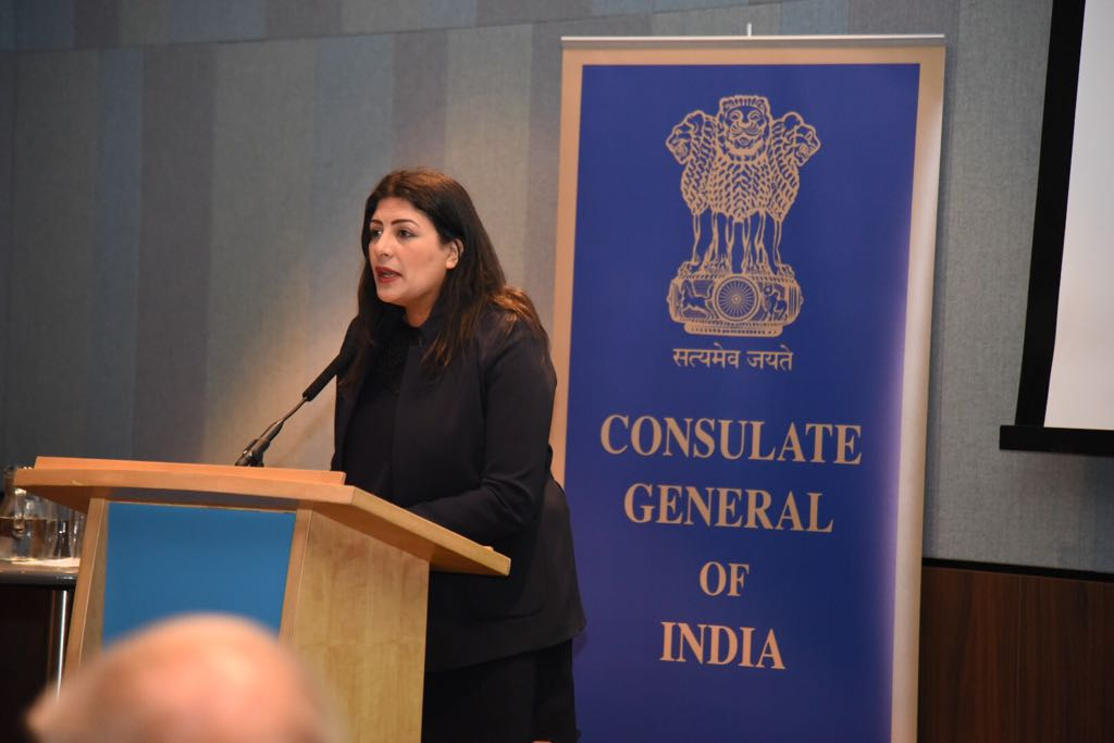 Preet Kaur Gill MP at Accessing India Made Easier event