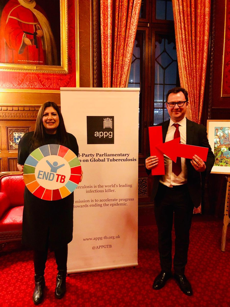 Preet Kaur Gill MP at World TB Day event in Parliament.