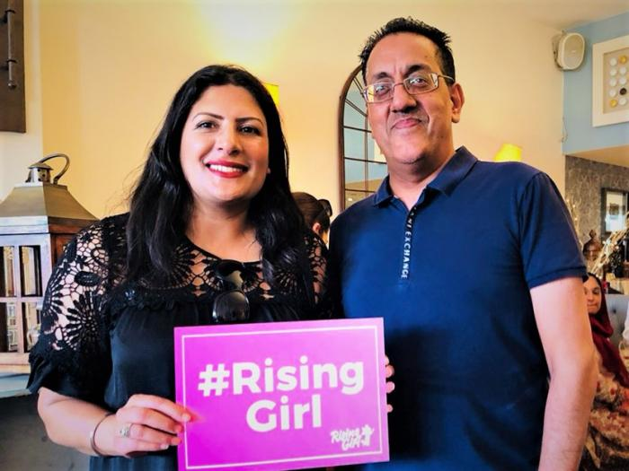 Preet Kaur Gill MP at Rising Girl Fundraiser