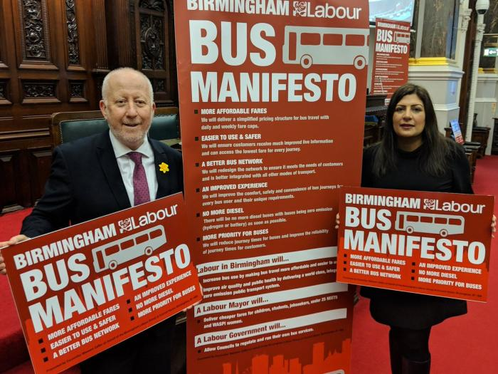 Preet Kaur Gill MP at Labour's Bus Summit.