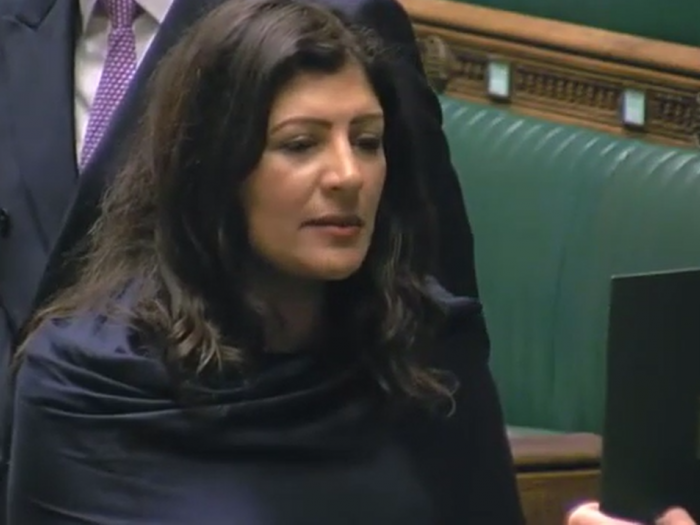 Preet Kaur Gill MP is sworn back in to Parliament.